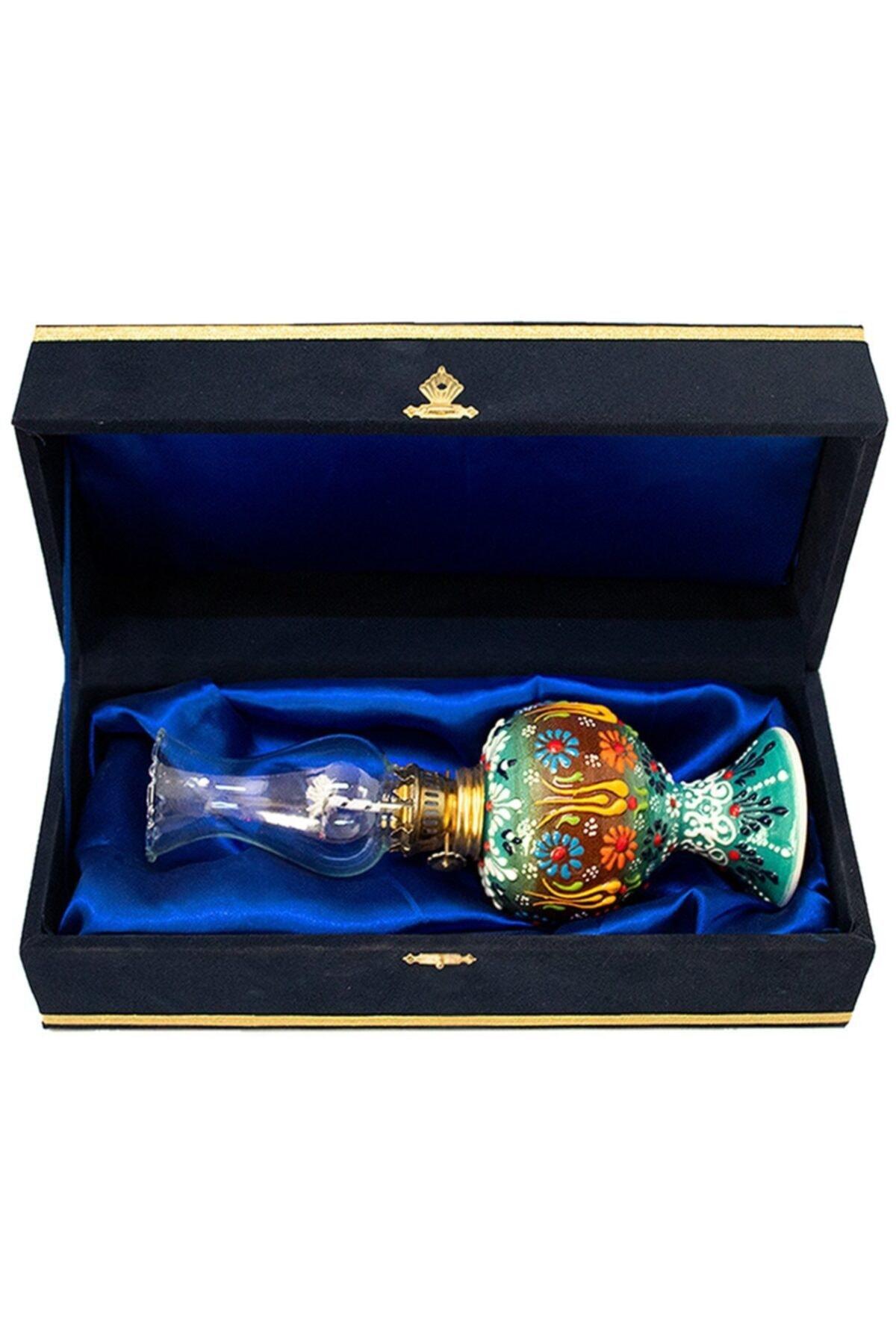 Decorative Blue Color Gas Lamp Custom Design Lighting Nostalgia