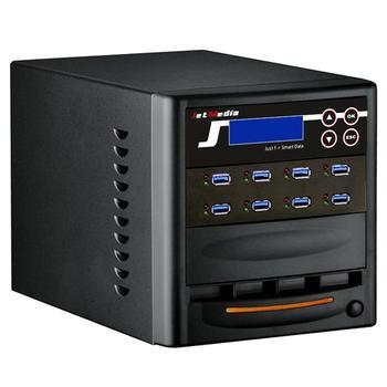 1 to 7 USB3.1 Flash Drive Duplicator JetMedia U308B USB Data Eraser