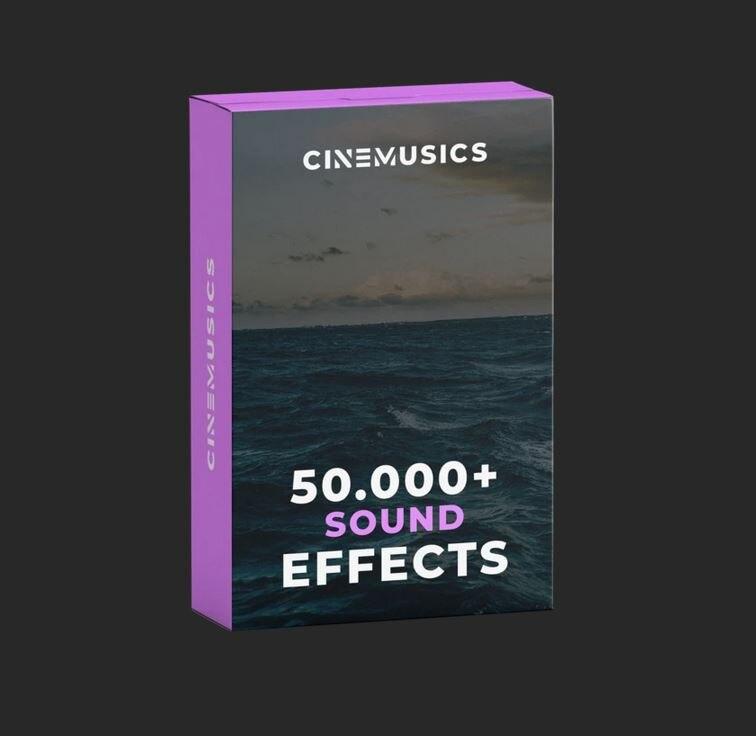 50.000 + pacote de som cinematográfico fx