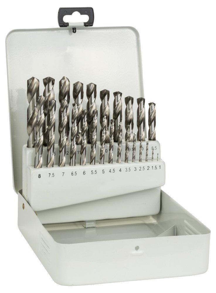 German Bosch HSS Metal Drill Bit Set 25 Piece Original