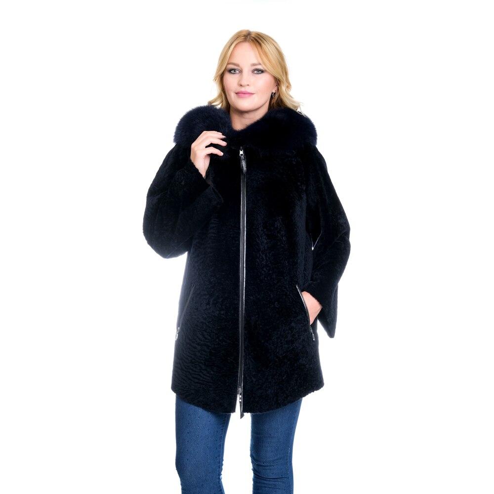 Zoramotti, فرو نسائي, فرو حقيقي, جلد خروف, طوق ثعلب, ملابس شتوية, يحافظ على الدفء, تركي, تركيا, Moskow