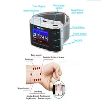 diatetic watch high blood pressure laser blood sugar prevent sudden stroke death cerebral thrombosis physiotherapy laser watch