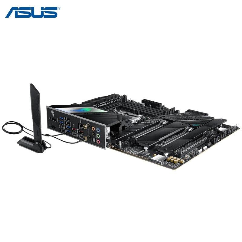 100% ASUS ROG STRIX Z590-F GAMING WIFI Motherboard LGA 1200 DDR4 USB3.2 M.2 PCIe 4.0 WiFi 6E Overclocking Mainboard New Desktop