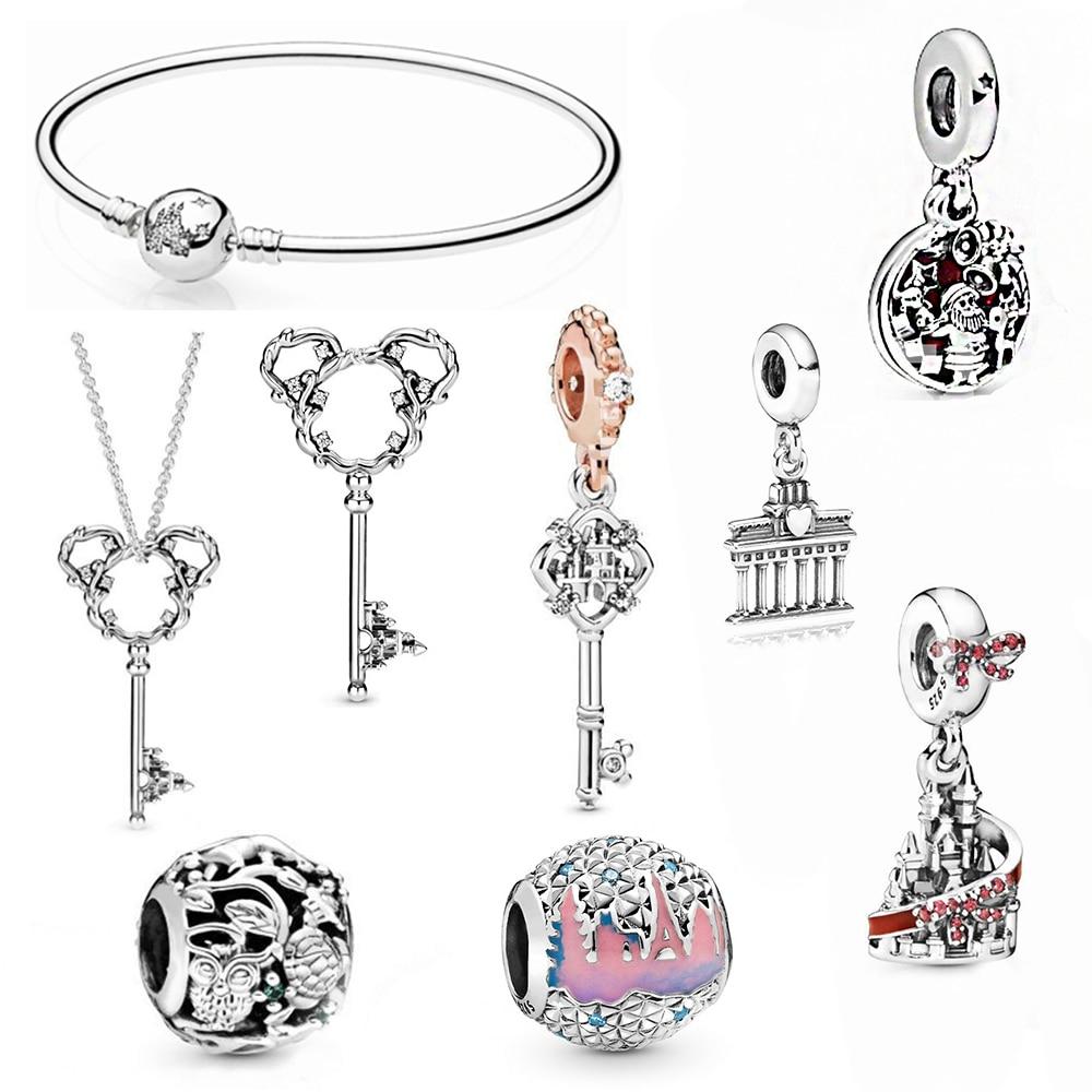 Kakany novo 100% shigh qualidade animal reino contas berlim brandenburg porta ornamentos pequeno pingente moda senhoras jóias