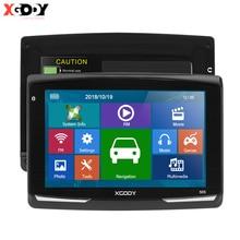 XGODY 505 voiture GPS Navigation 5 pouces FM Navitel 2019 dernière Europe carte Sat Nav camion GPS navigateur Automobile 128M + 8GB