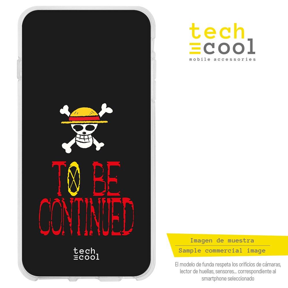 "FunnyTech® Funda Silicona para Xiaomi Redmi Note 7 / Note 7 Pro l Serie One Piece ""To be continued"" fondo"