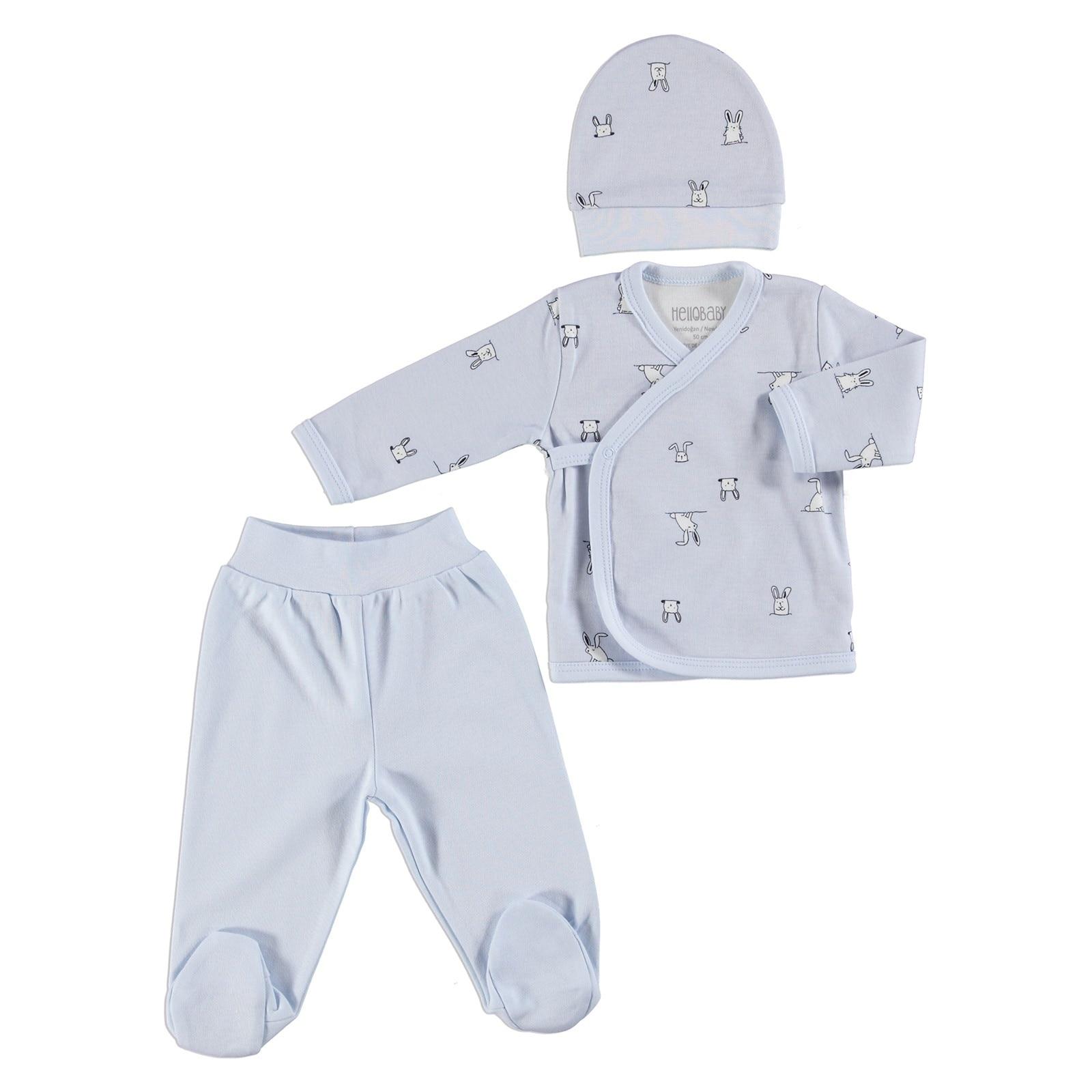 ebebek HelloBaby Baby Tracksuit Bottom Pants For Newborns Baby Leggings Newborn Hospital