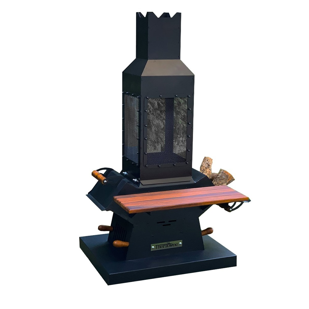 Waaw professional wood garden fireplace stove fire pit burning camping picnic outdoor space custom design cooker hearth