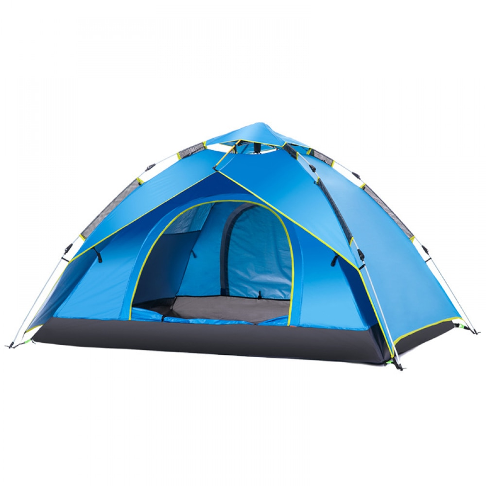 Naturehike Tourist Tent Shelter Automatic 3-4 Person Anti-mosquito Waterproof Outdoor Hiking Tent Gazebo Fishing Hiking Picnic