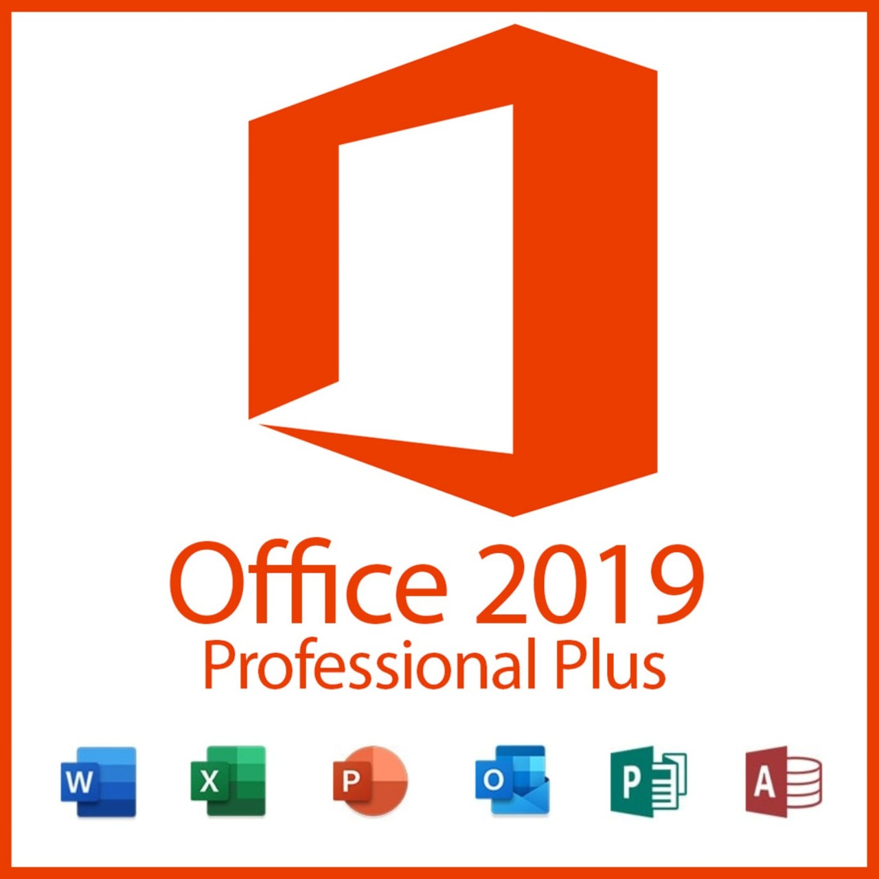 Ms Office Professional Plus 2019 - Genuine 32/64 bit - Key Activation - all languages All Countries