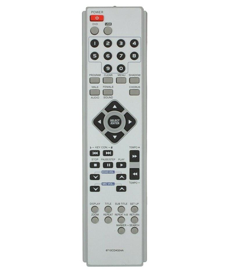 Control remoto para LG 6710 cdag04а aux, dks-2000, dks-7000q (con karaoke), dks-7100q, dks-7100sq (dks-7100s), dks-7500, dks-7500q