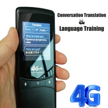 CCTVMAN Traducteur Vocal Instantan Traducteur hors ligne Traducteur Vocal instantanée de voz Traducteur intelligent 4G Portable