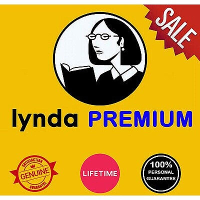 Suscripción Premium de por vida Lynda con garantía acceso Personal ilimitado