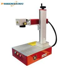 Lazer işaretleyici 20W 30W 50W CNC dortmatic lazer taşınabilir renk mücevher lazer markalama makinesi