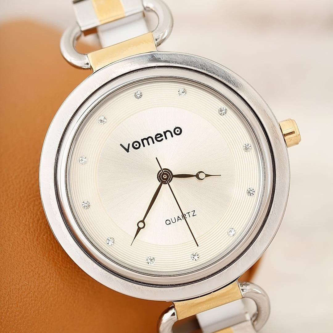 Reloj de pulsera de Metal para mujer de la marca vomen. Reloj dinero regalo ratón pulsera reloj joyería hebilla reloj pulsera encanto