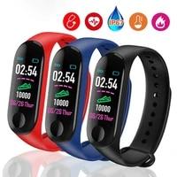 sport m3 smart watch smart band for women men blood pressure monitor smart wristband smartwatch bracelet m3 wristband