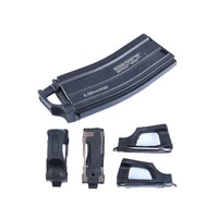 4 pcspack airsoft m4 speedplate fast magazine holder hunting 5 56 standard mag holster rubber tactical gun upgrade accessories