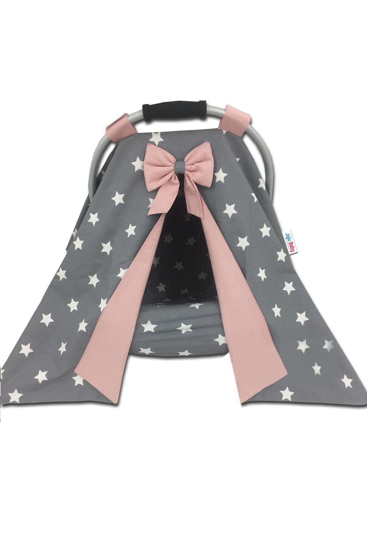 Jaju Baby Gray v Powder Combined Stroller Cover v Inner Bed Sheet