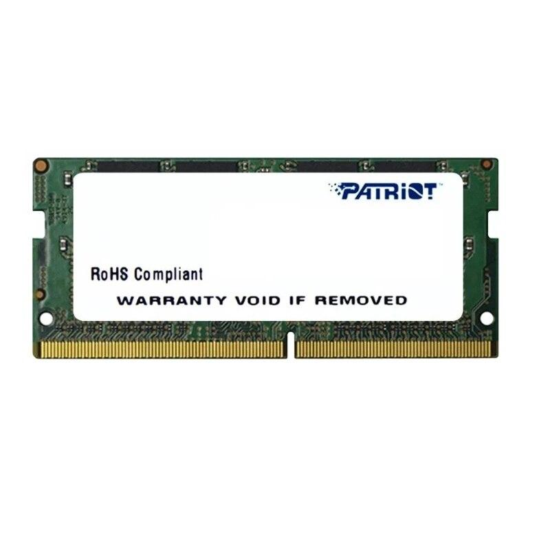 Memoria SO-DIMM DDR4 4 GB pc19200 2400MHz cl17 1,2 V patriota RTL (psd44g240082s)