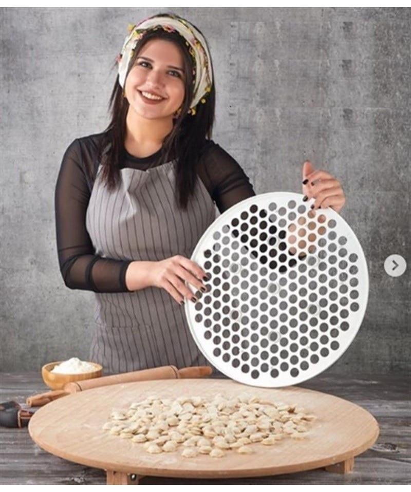 40 cm Turkish Ravioli Manti Mold New Pastry Pie Tools Dumpling Maker Wraper Dough Cutter Pie Dumpling Mould Kitchen Accessorie