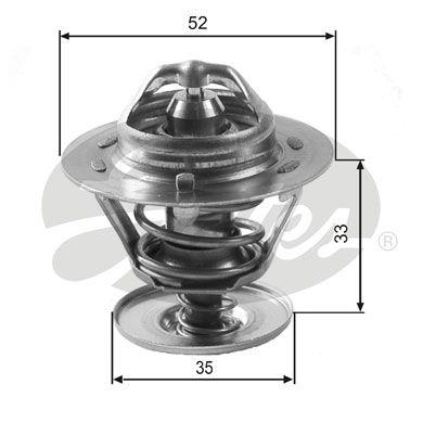 Термостат Ford Escort/Mondeo/Focus 1.3 2.9i/1.8 2.5D/TDi 88 GATE|Диски колёсные| |