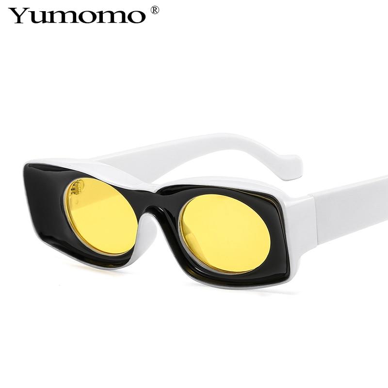 2020 Fashion Candy Color Square Snglasses For Women Men Luxury Brand Couple Sun Glasses Female Retro