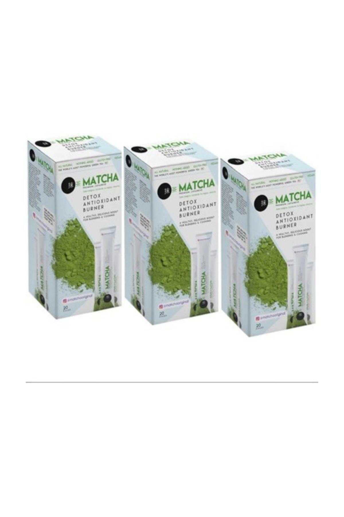 High quality Matcha Original Premium Japanese Tea 20 Pieces * 10 gram Free Shipping