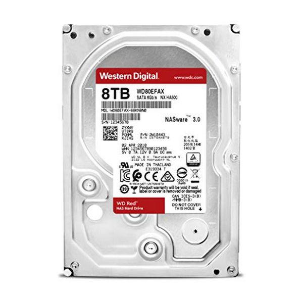 "Festplatte Western Digital WD80EFAX 8 TB 3.5 ""SATA III"
