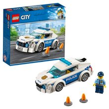 Tasarımcı Lego şehri 60239 polis devriye arabası