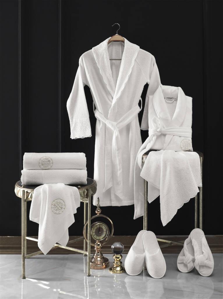 MARINA PREMIUM BAMBOO 8 PIECES FAMILY BATHROBE SET BAMBOO SLIPPERS BAMBOO TOWEL BATH TOWEL HOTEL SPA SAUNA BATH POOL NEW SEASON towel set 2 pieces saheser towel set 2 pieces