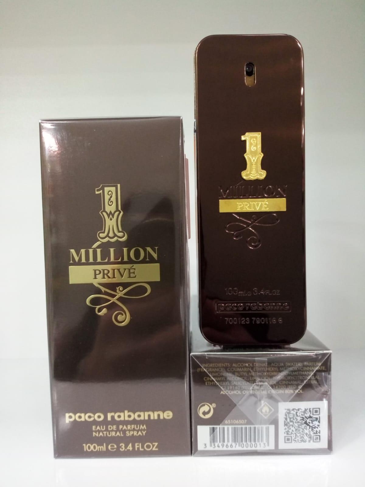 Un MILLION PRIVE EDP 100 ML parfum masculin