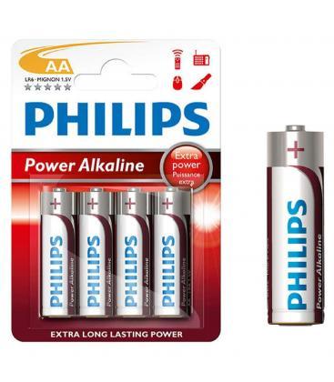 Pilas Philips bateria original Alcalina Tipo AA LR61 1,5 V en blister 4X Unidades
