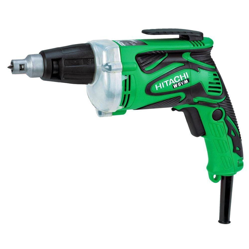 Hitachi W6VM 620 vatios profesional de paneles de yeso destornillador apretando máquina de electricidad batería coche alet de litio láser piercing malzeme de