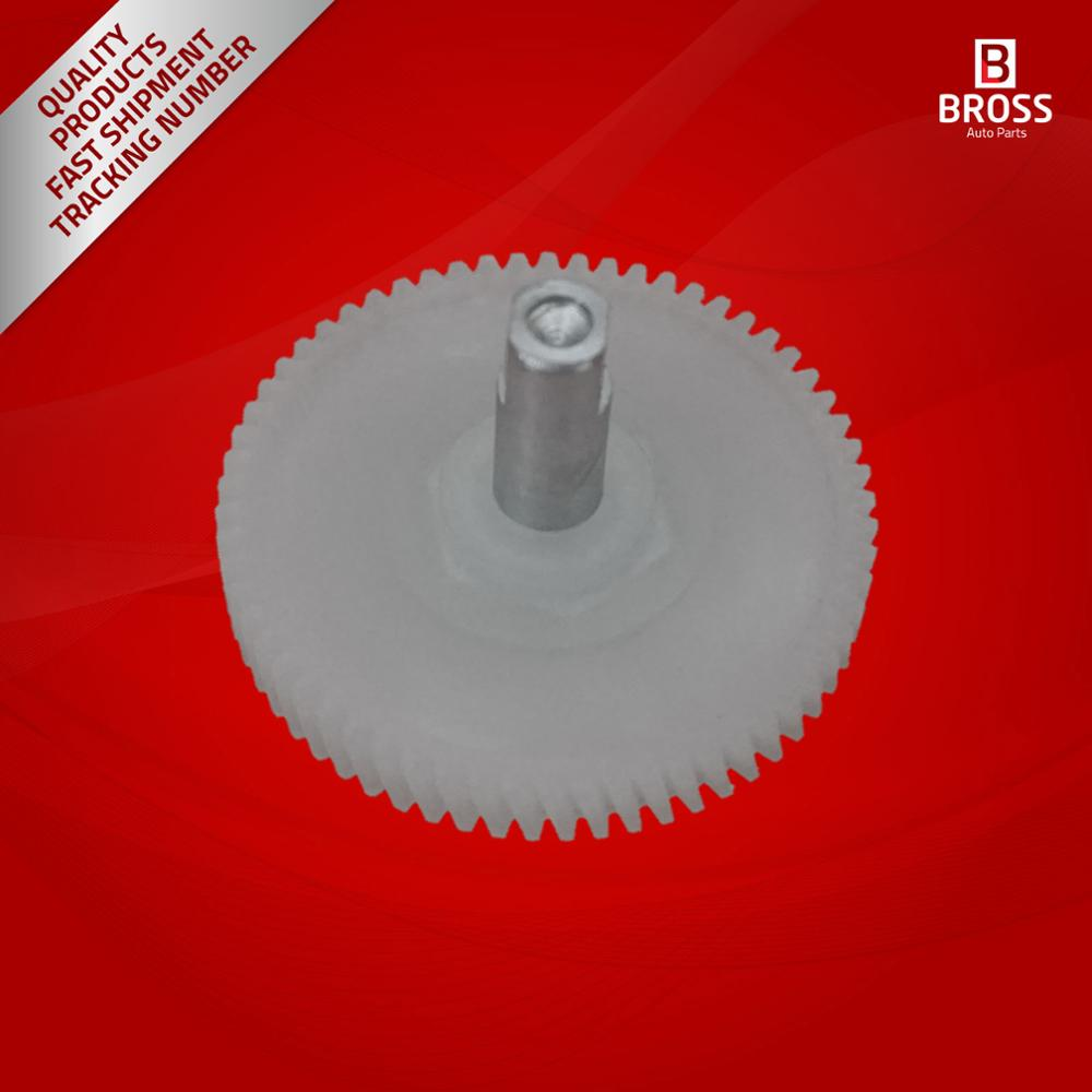 Bross BSR518 Panoramic Sunroof Motor Repair Gear with Shaft for Mini Cooper 2007-2014 54103448675, 54103428921, 54109809776