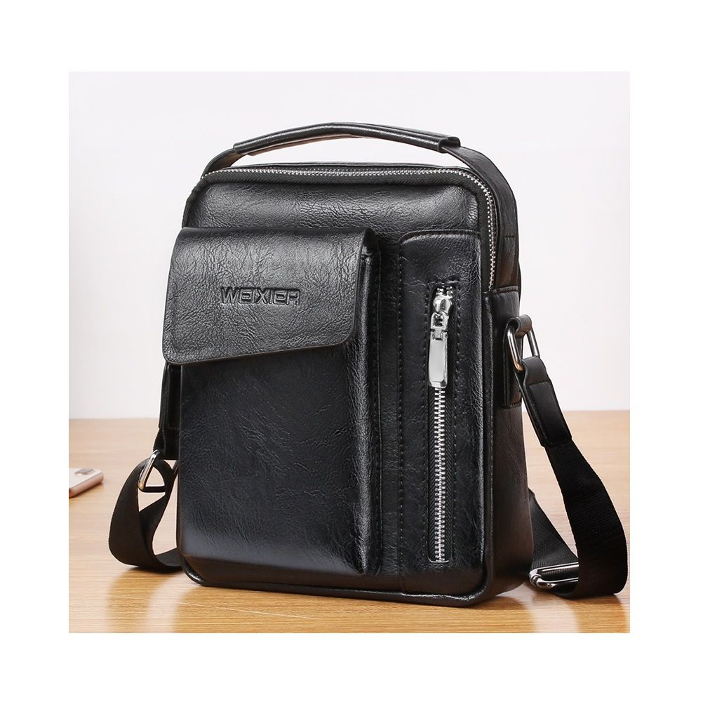 Besace en cuir compatible avec Ebook, tablette et pour MULTIPAD prestige WIZE 3418 4G