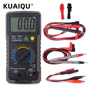Multimeter Digital LCR 4070D Meter Capacitor Tester Digital Capacimeter Inductance Meter With Tips For Multimeter Pen Avometer