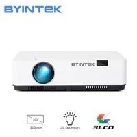 BYINTEK     projecteur de formation K400 300 pouces 3LCD plein HD 3300 P cinema education reunion publicite 1080 ANSI
