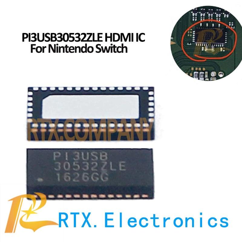 PI3USB30532ZLE PI3USB 30532ZLE Für Nintend Schalter Power Control Chip NS Spiel Controller LCD Display Touchscreen FPC Stecker
