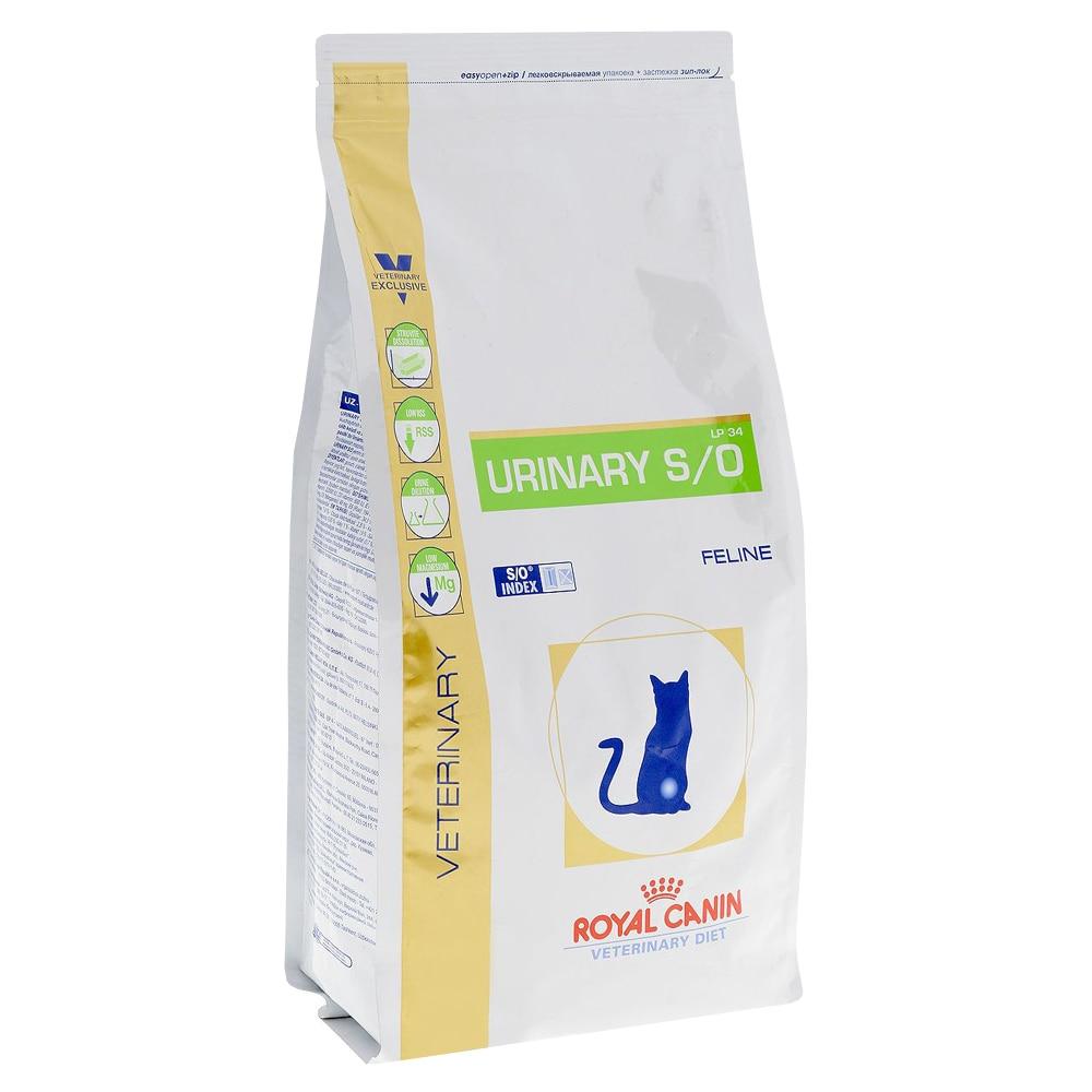 Royal Canin Urinary S/O comida para gatos en el tratamiento de ICD, comida para gatos, 1,5 kg