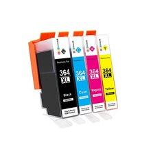 4 Cartuchos HP364xl HP 364xl 364xl de recambio Compatible para impresora Modelo PhotoSmart C 5388