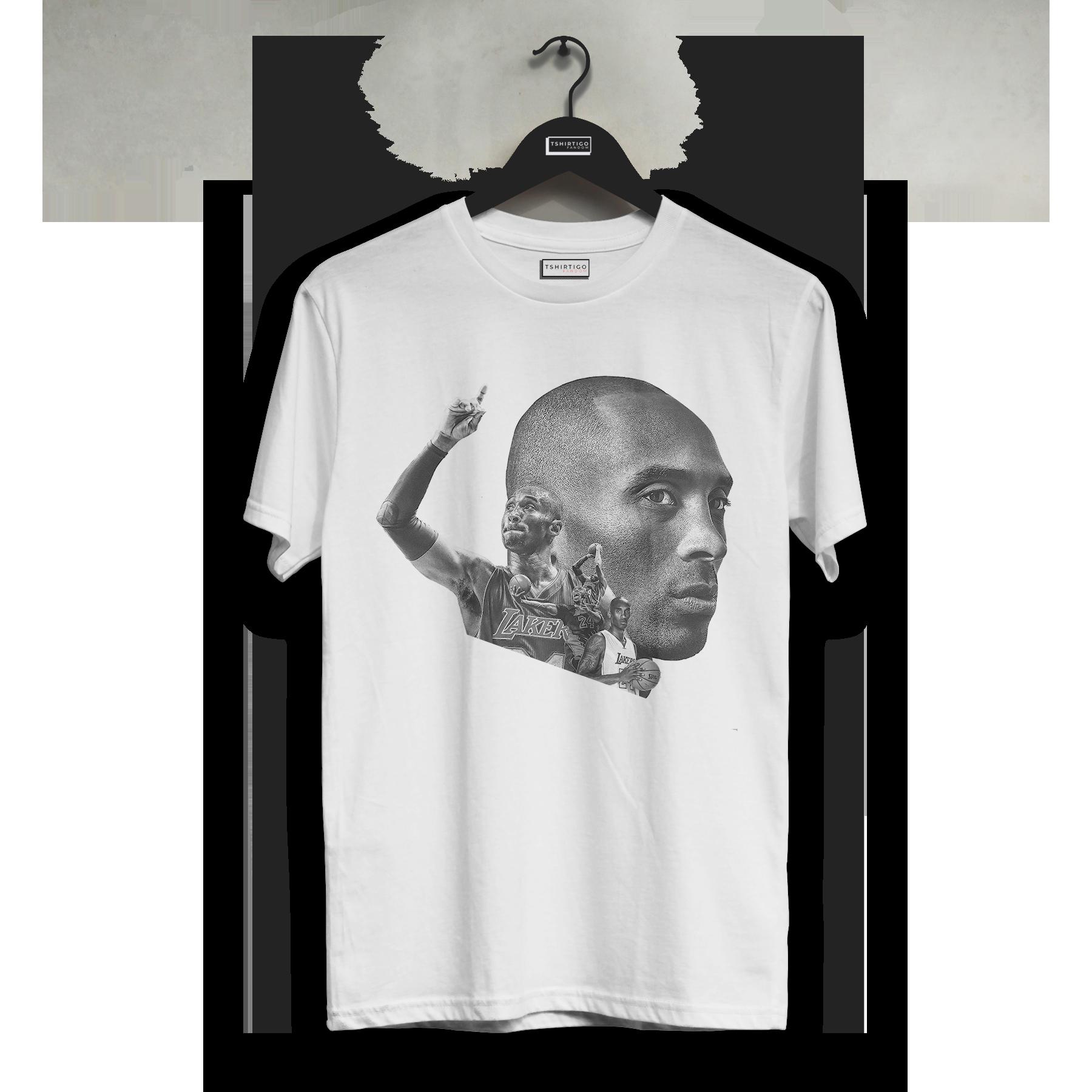 2020 Kobe Bryant negro Mamba leyenda camiseta Lakers Kobe impreso camiseta baloncesto NBA regalo deporte blanco camiseta