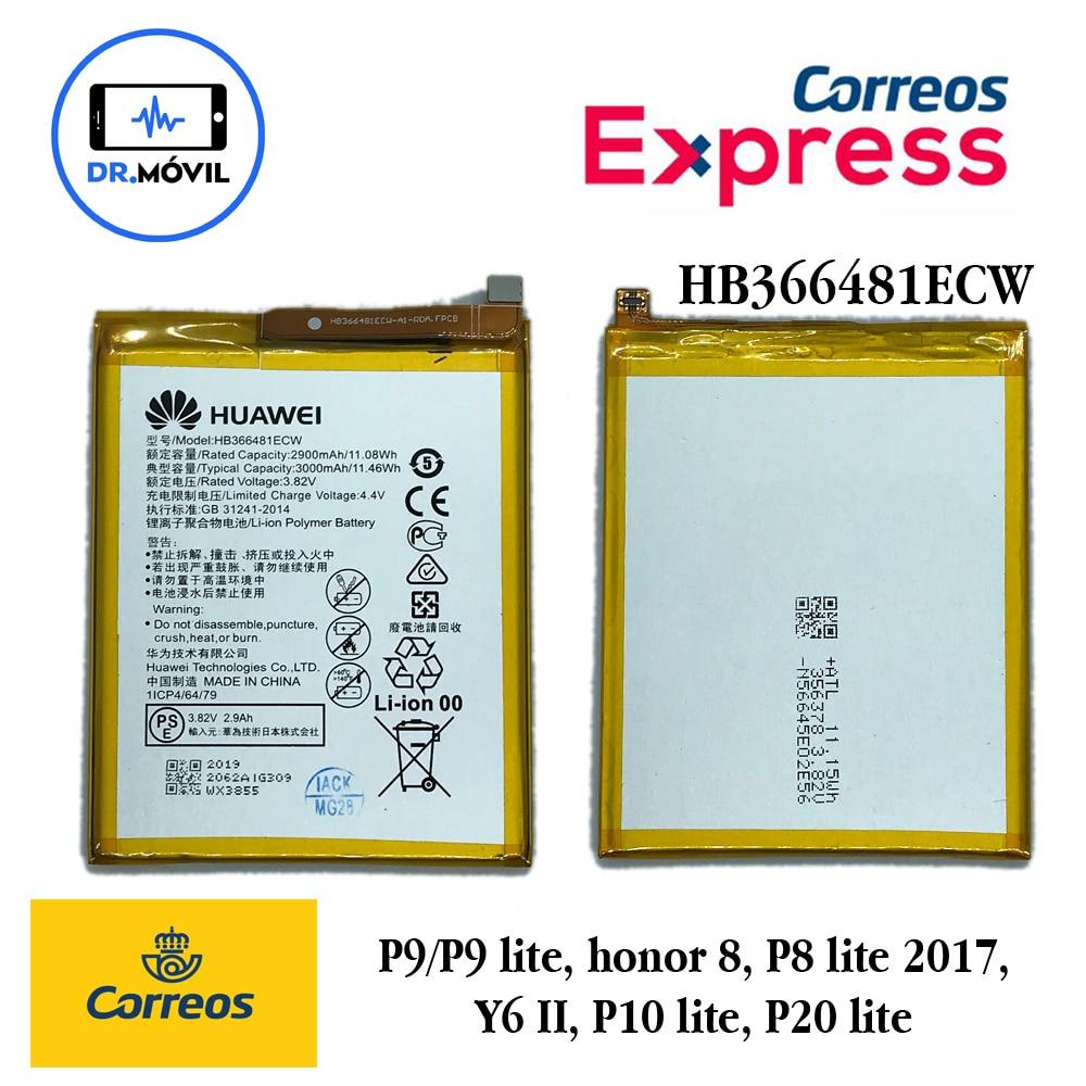 Bateria para Huawei P9 P9 Lite Honor 8 P10 Lite P8 Lite 2017 P20 Lite Fabiración 2020