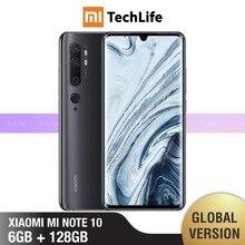 Globale Version Xiaomi Mi Hinweis 10 128GB ROM 6GB RAM (Marke Neue/Versiegelt) hinweis 10, note10 Smartphone Mobile