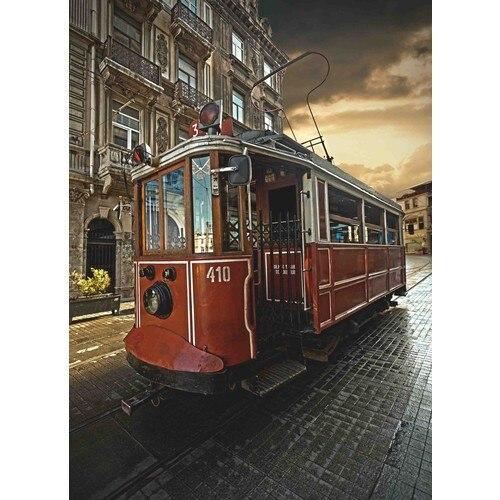 Стамбул головоломка Ностальгический тележка тематические 1000 частей головоломки мини-головоломки игры крепления рисунок головоломки игры ...