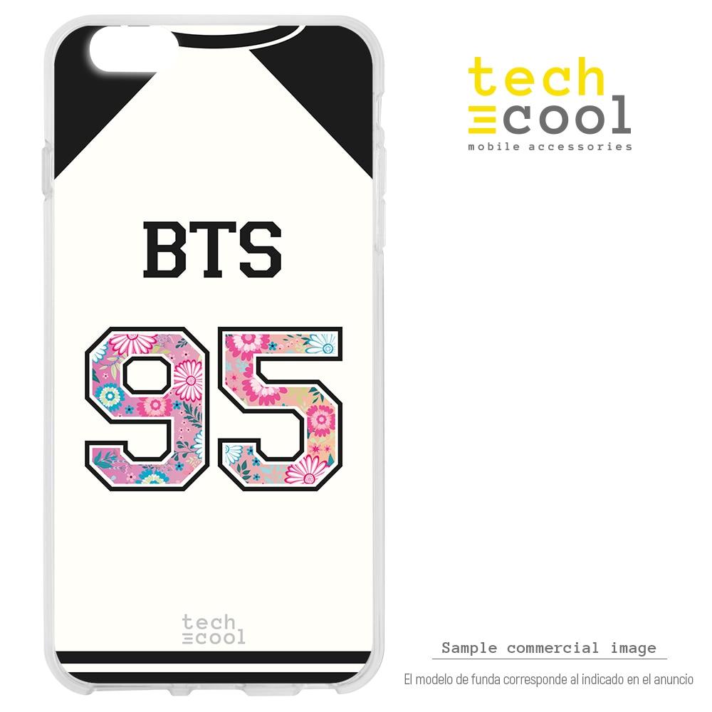FunnyTech® Funda Silicona para Huawei P30 l Camiseta Grupo Música BTS 95