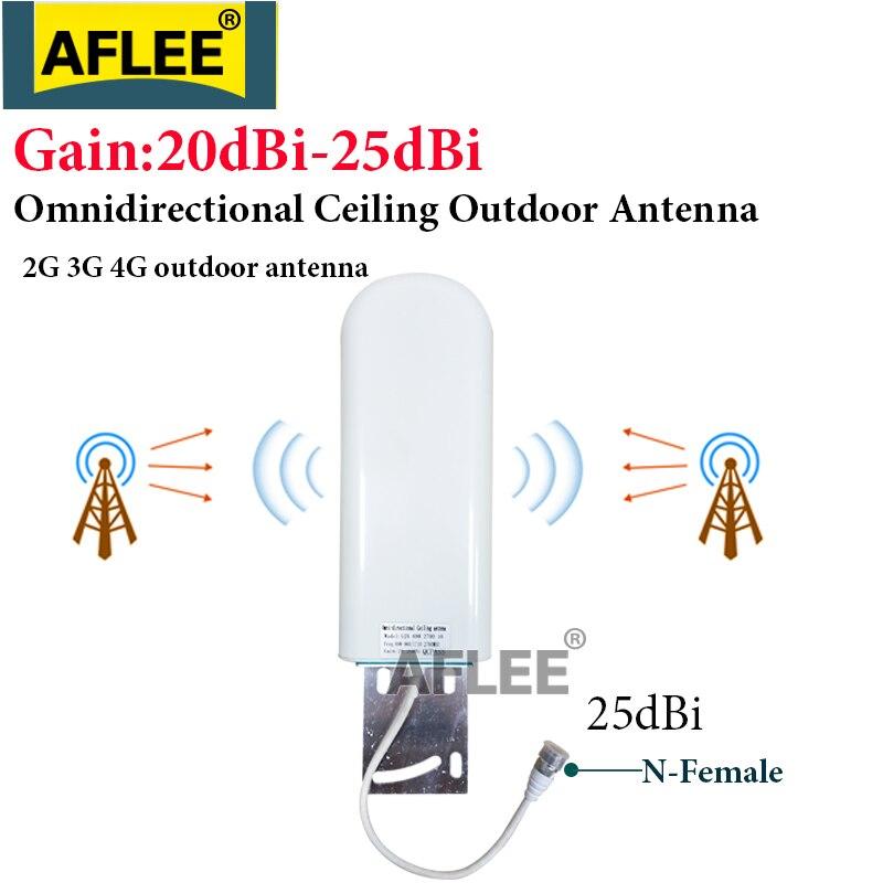 4G LTE antena 25dBi antena al aire libre antena GSM 3G 4G booster antena N Hembra 2G 3G 4G LTE repetidor de señal móvil de refuerzo