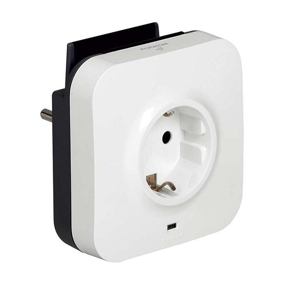 Enchufe de pared Legrand con 2 puertos USB 218985 USB 5V x 2 blanco