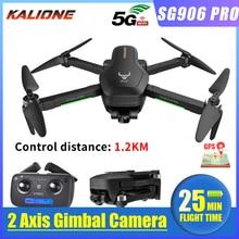 2020 SG906 Pro Quadcopter Gps Drone Met 4K 5G Wifi 2-Axis Gimbal Dual Camera Profissional Borstelloze esc 50X Zoom 1.2Km 25 Minuten