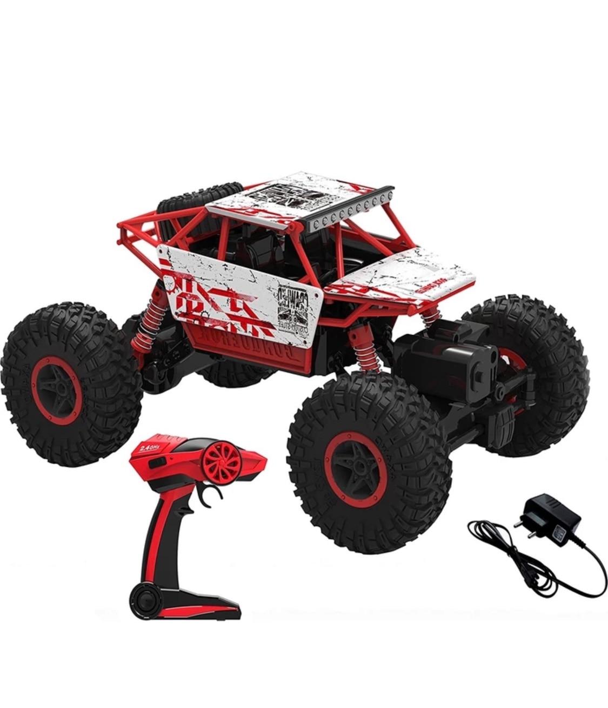 R/C 1:18 Rock Crawler 4x4 WD Remote Control Car Buggy Jeep - Green 1:18 Scale Rock Crawler 4x4 WD Remote Control Buggy Jeep 4 wÇ enlarge