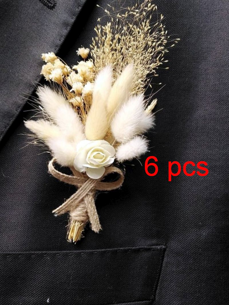 6-pcs-of-natural-fresh-dried-preserved-flowers-gypsophila-paniculata-needle-corsage-boutonniere-groom